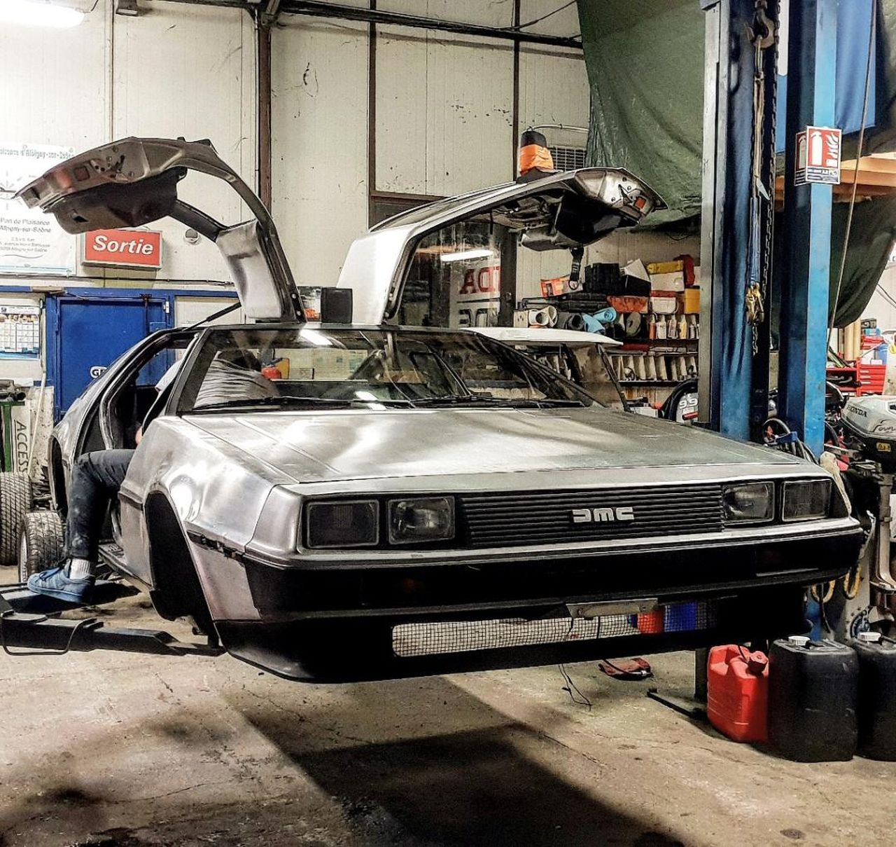 #Car Mytho : La DeLorean de Retour vers le futur... Nom de Zeus ! 28