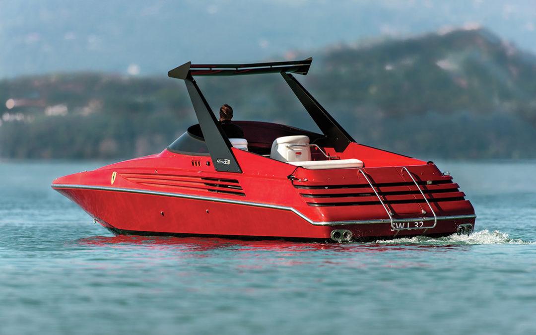 Riva Ferrari 32 – Dragster de lac !