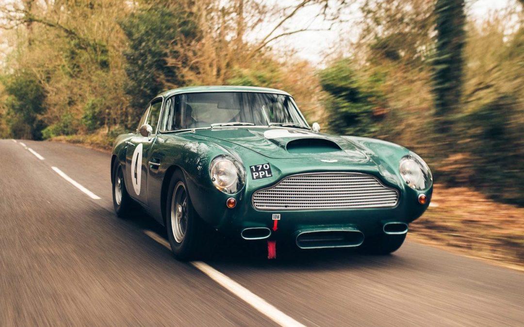 '60 Aston Martin DB4 GT… Chic & Choc !
