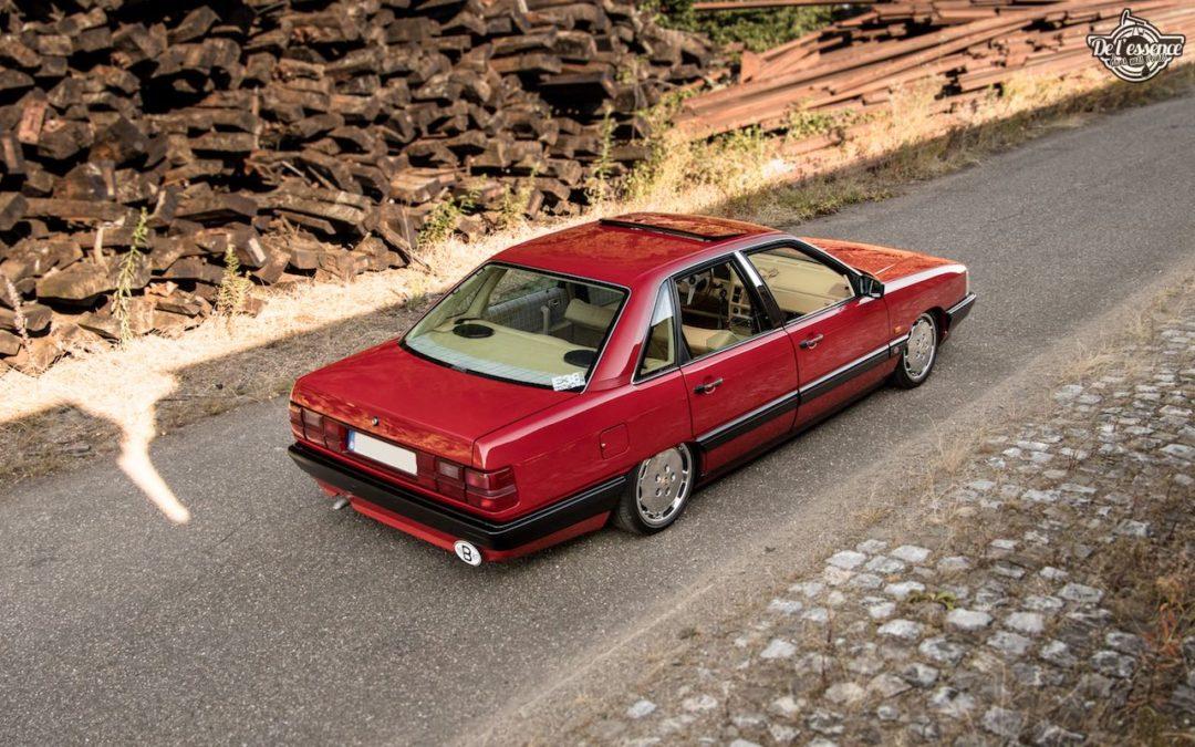 Bagged Audi 100 – Merci Papi !