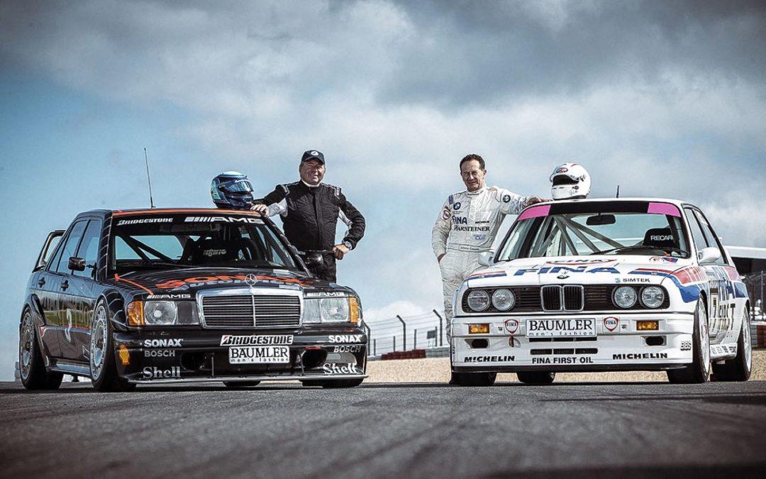 Mercedes 190 2.5 vs BMW M3 E30… Duel en DTM !