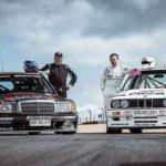 Mercedes 190 2.5 vs BMW M3 E30... Duel en DTM !