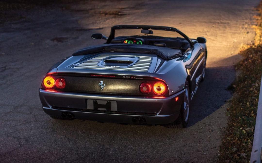 Ferrari F355 Serie Fiorano : 50% Challenge – 50% Berlinette… 100% Spider !
