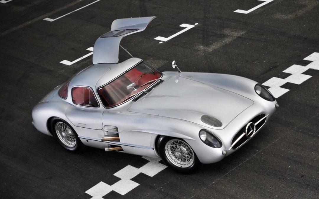 Mercedes 300 SLR... Un R qui change tout ! De l'essence dans mes veines
