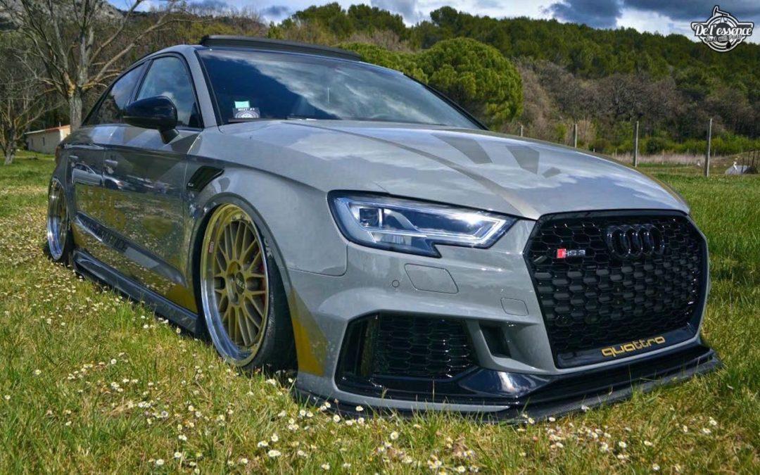 JC's Audi RS3… Une histoire à 5 pattes !