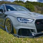 JC's Audi RS3... Une histoire à 5 pattes !