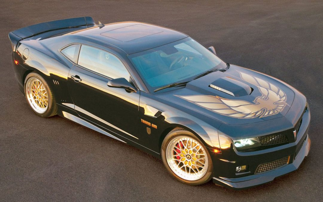 Trans Am The Bandit Edition… Bo Darville is back !