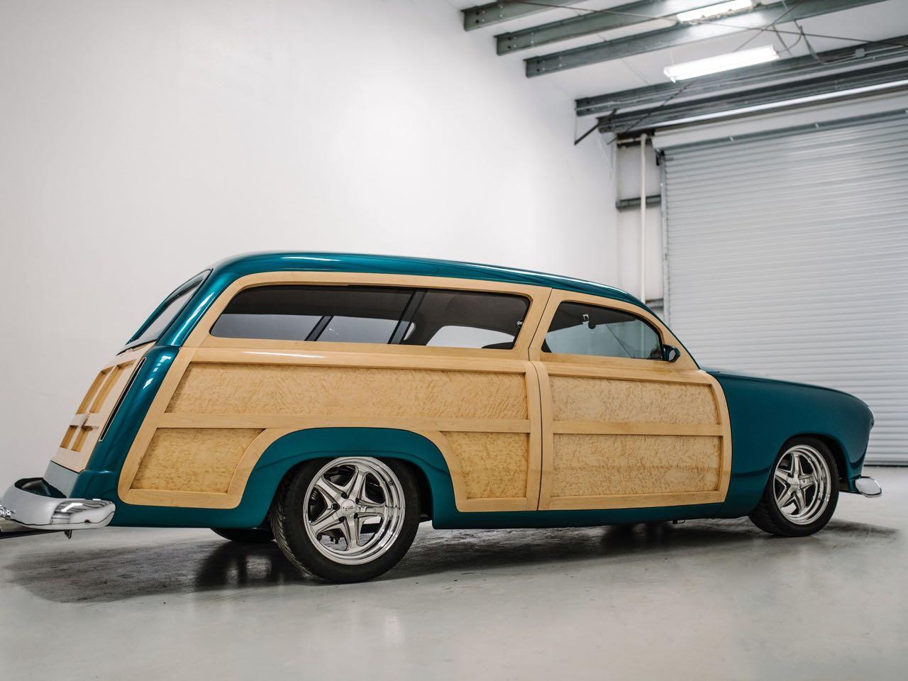 """'50 Ford Station Wagon Custom Woodie... """"Envy"""" de bois et d'acier ! 22"""
