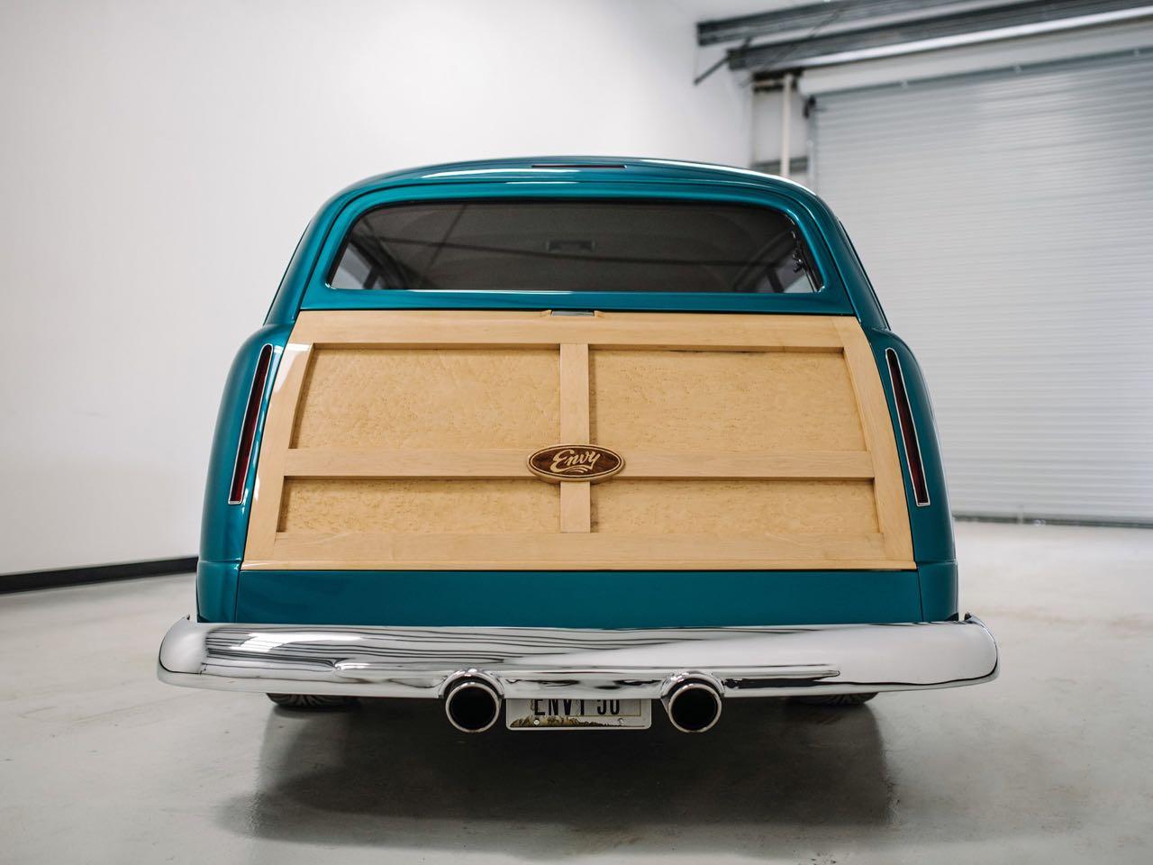 """'50 Ford Station Wagon Custom Woodie... """"Envy"""" de bois et d'acier ! 7"""