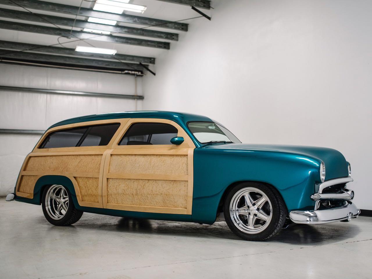 """'50 Ford Station Wagon Custom Woodie... """"Envy"""" de bois et d'acier ! 12"""