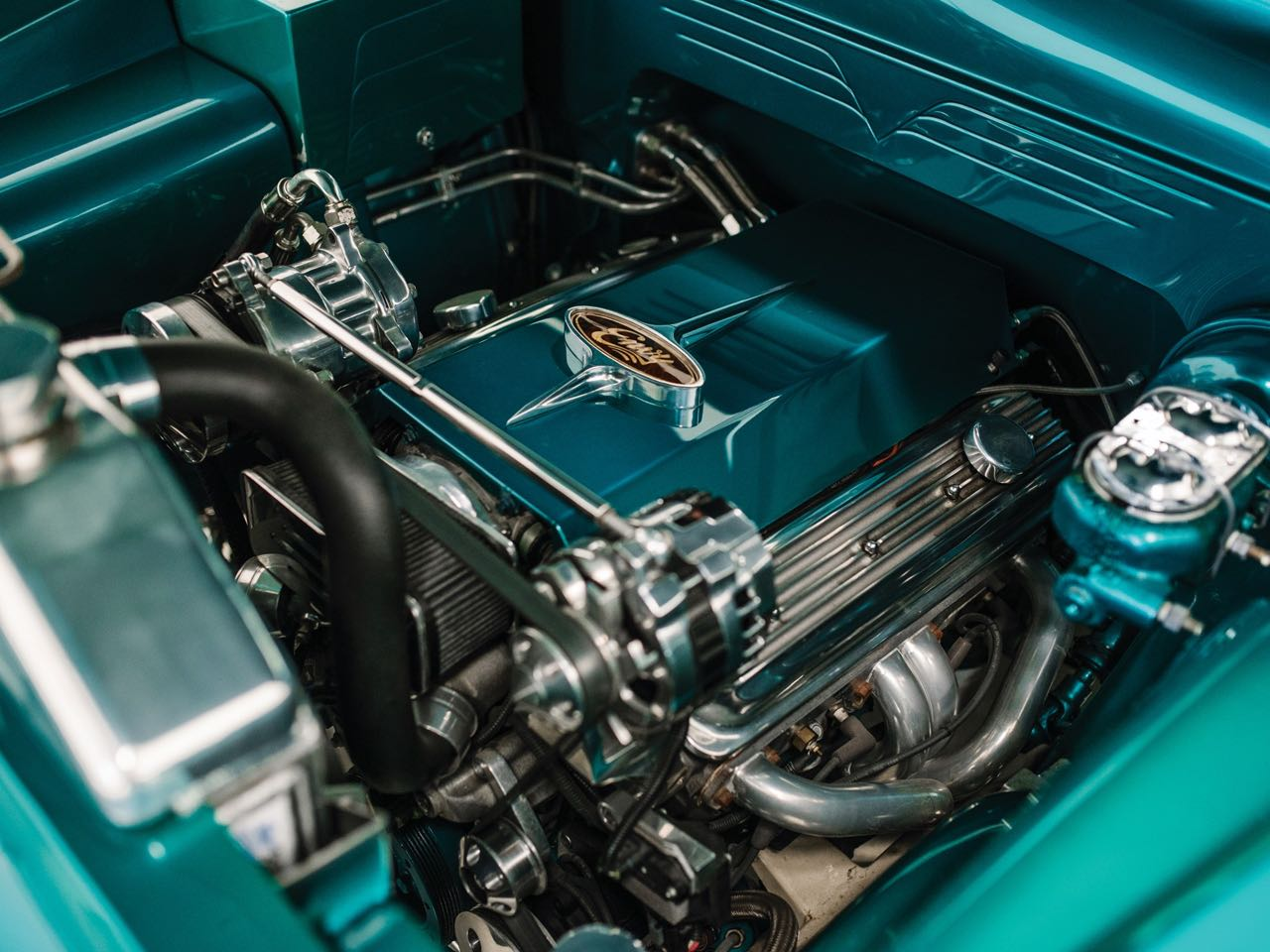 """'50 Ford Station Wagon Custom Woodie... """"Envy"""" de bois et d'acier ! 11"""