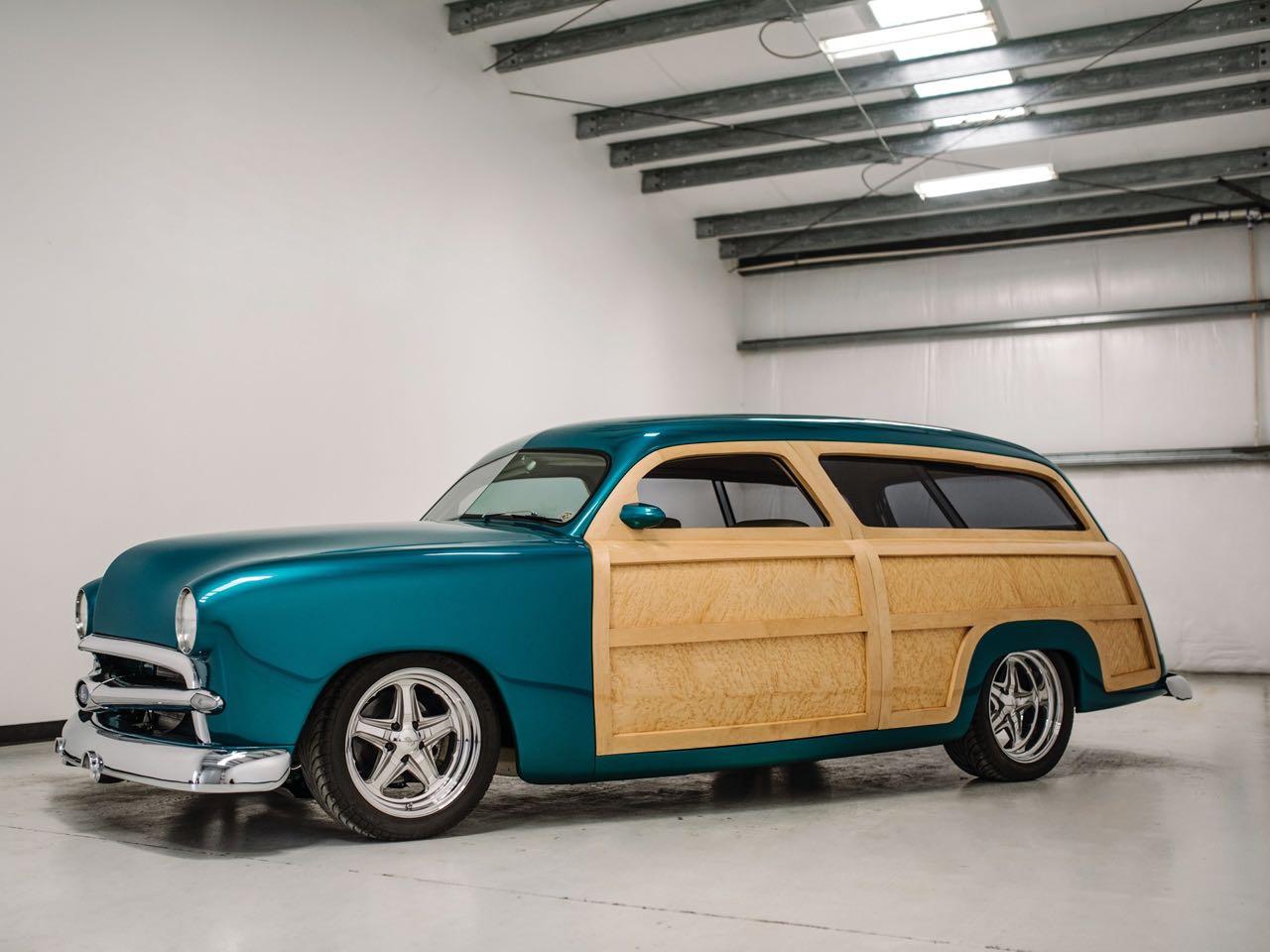 """'50 Ford Station Wagon Custom Woodie... """"Envy"""" de bois et d'acier ! 1"""