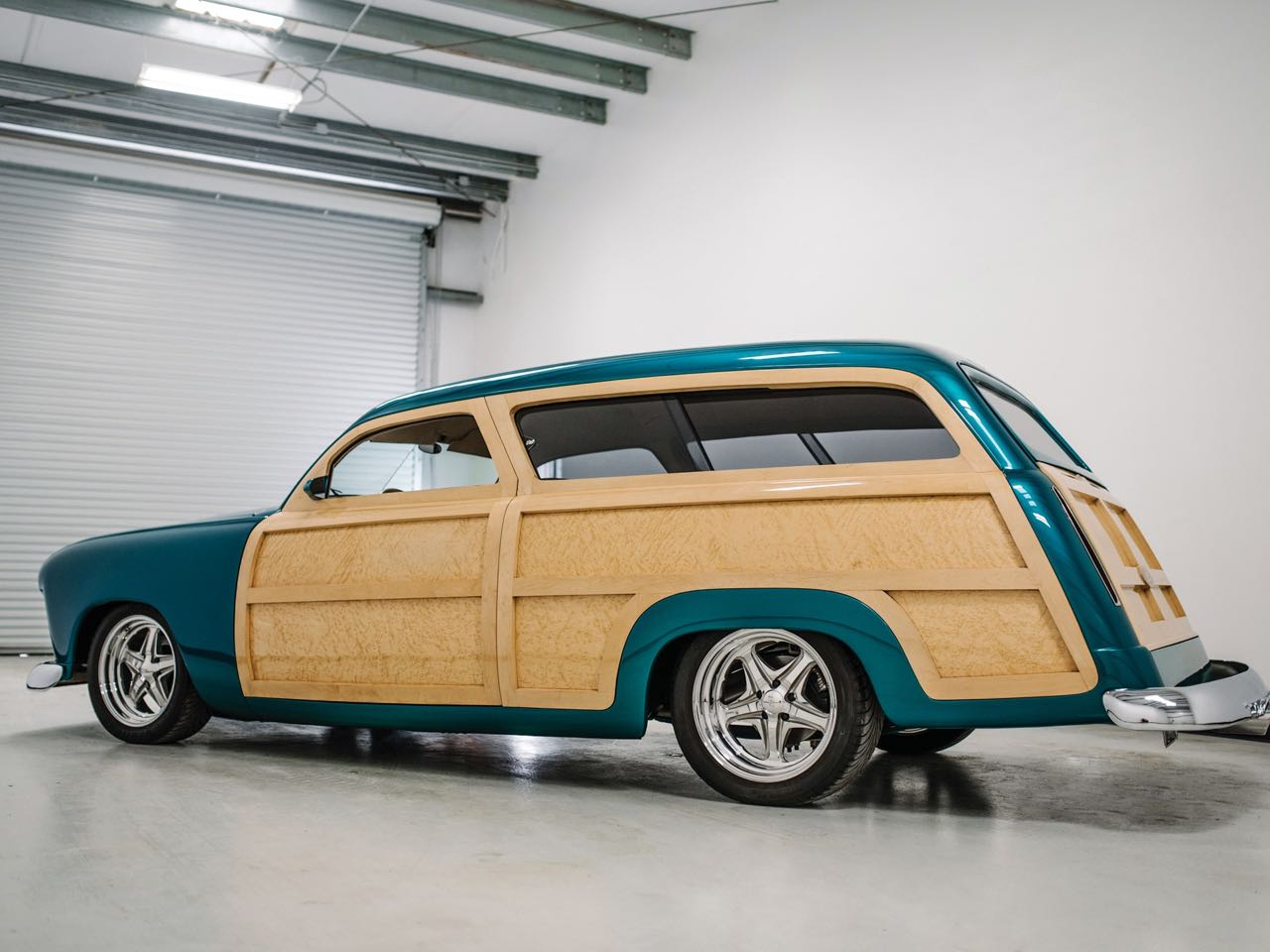 """'50 Ford Station Wagon Custom Woodie... """"Envy"""" de bois et d'acier ! 3"""