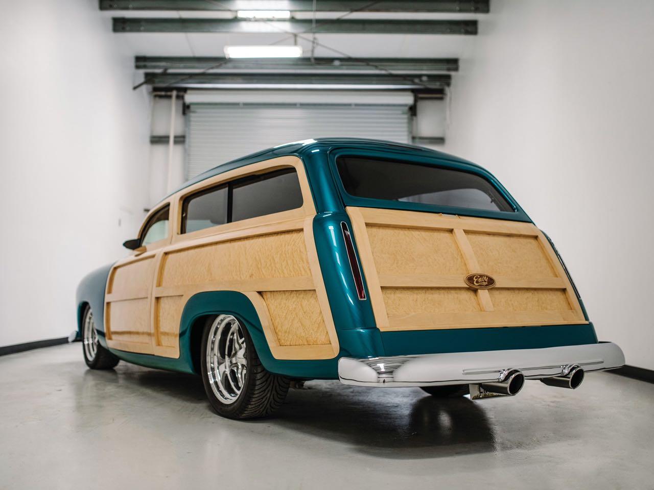 """'50 Ford Station Wagon Custom Woodie... """"Envy"""" de bois et d'acier ! 6"""