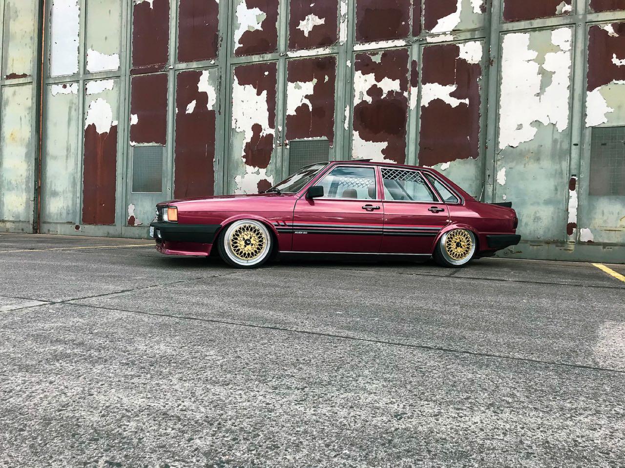 Bagged Audi 80 B2... Porn ! 4