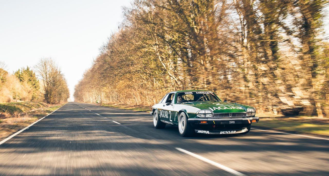 Jaguar XJS TWR... Un V12 dans la course ! 13