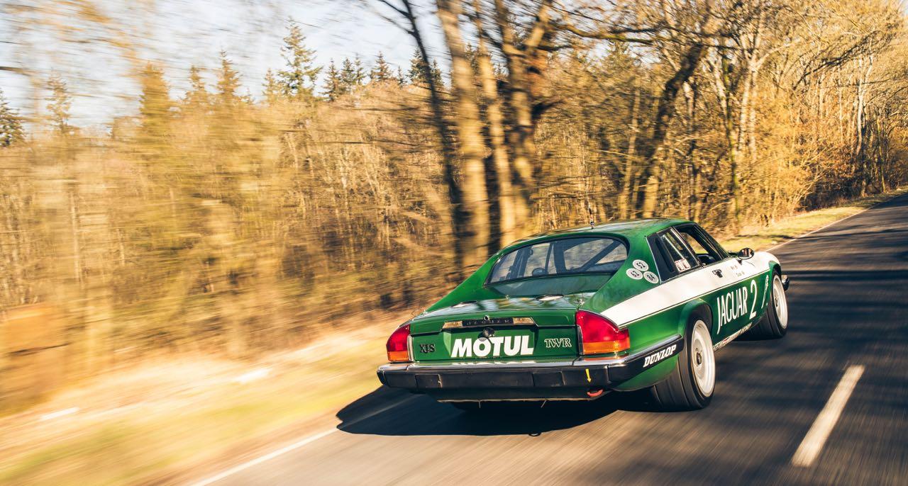 Jaguar XJS TWR... Un V12 dans la course ! 1