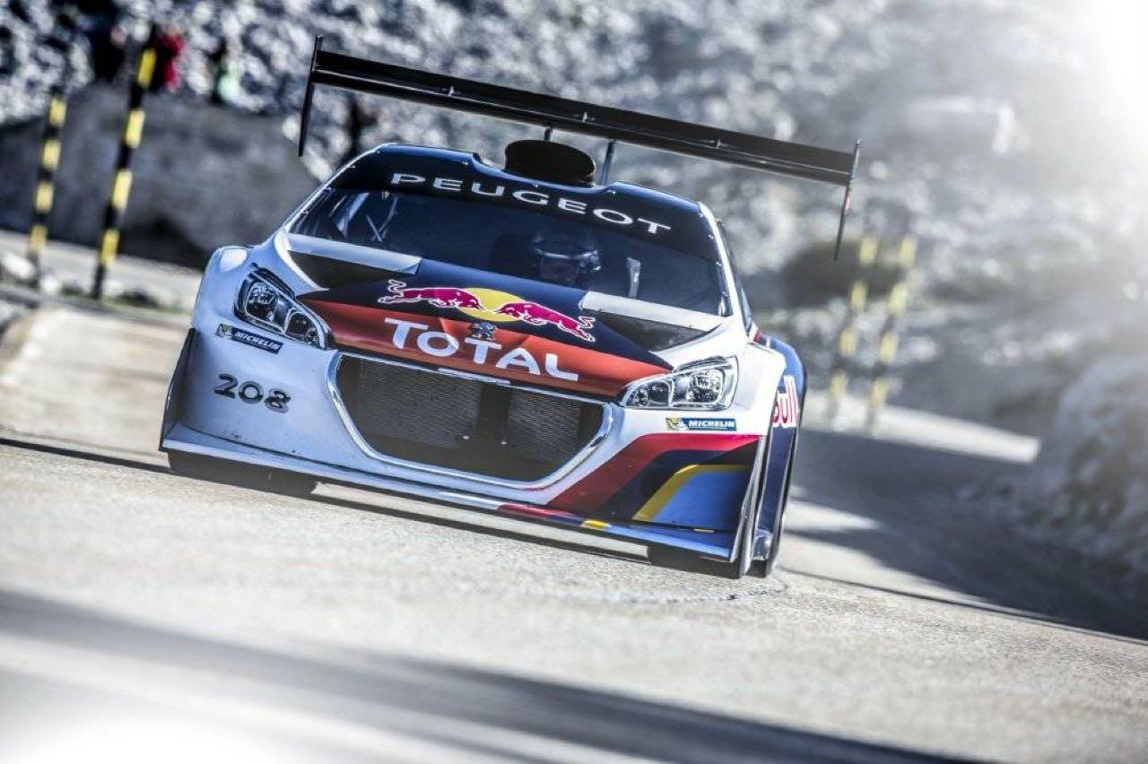 Incontournable : Loeb au Ventoux avec sa 208 T16... 6