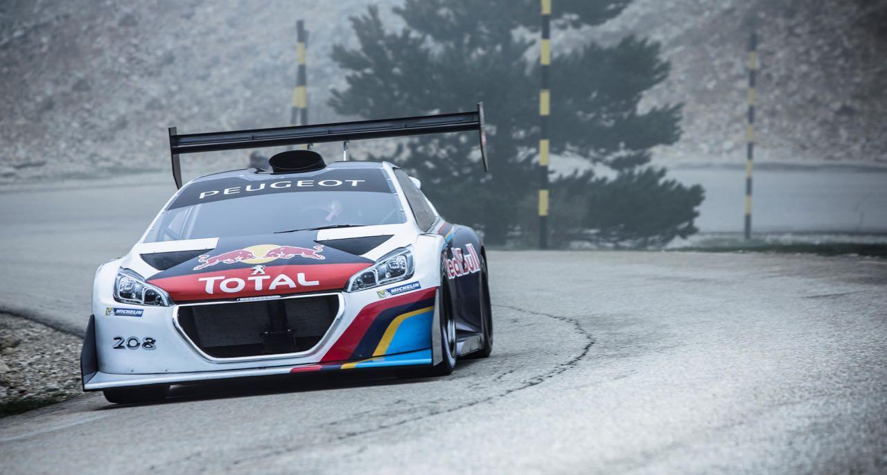 Incontournable : Loeb au Ventoux avec sa 208 T16... 7