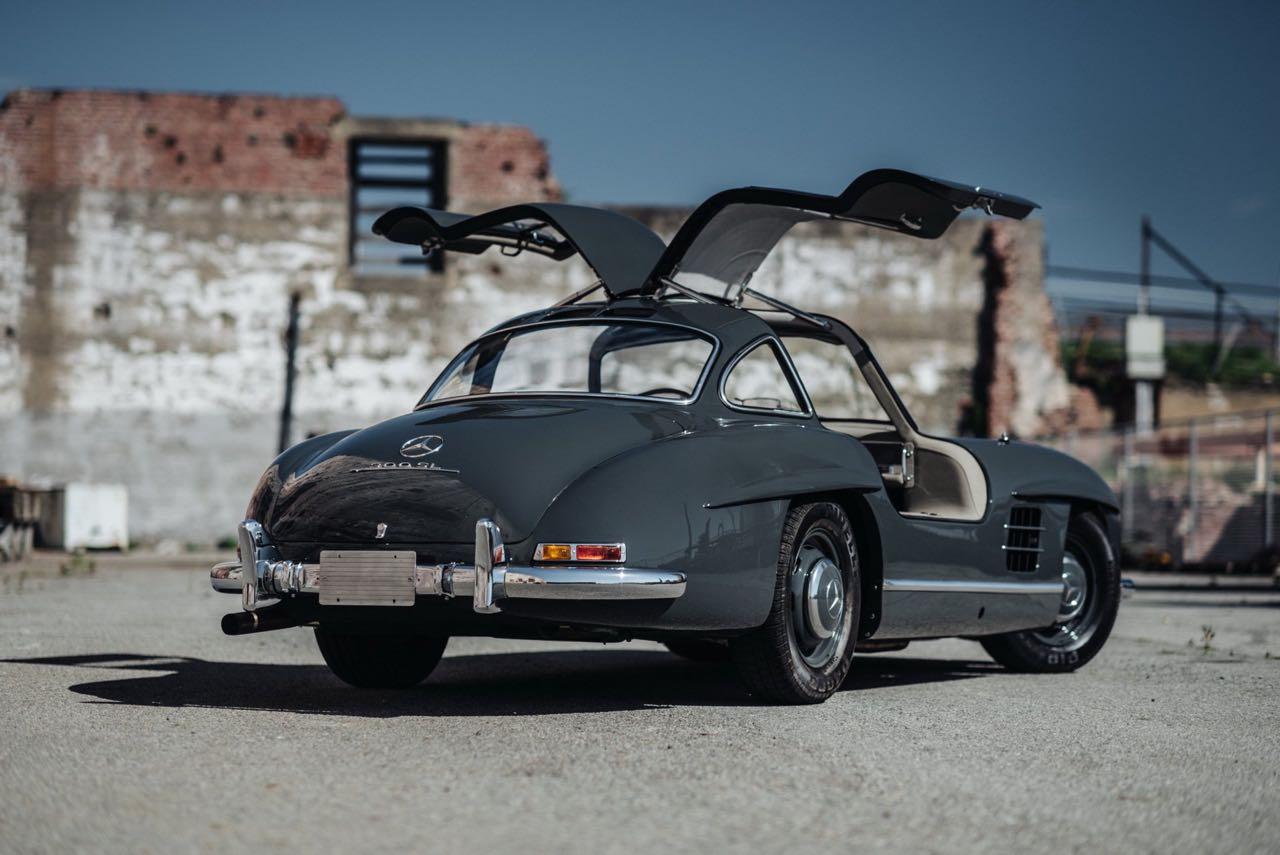 '56 Mercedes 300 SL Gullwing : C'qu'il faut savoir... 2