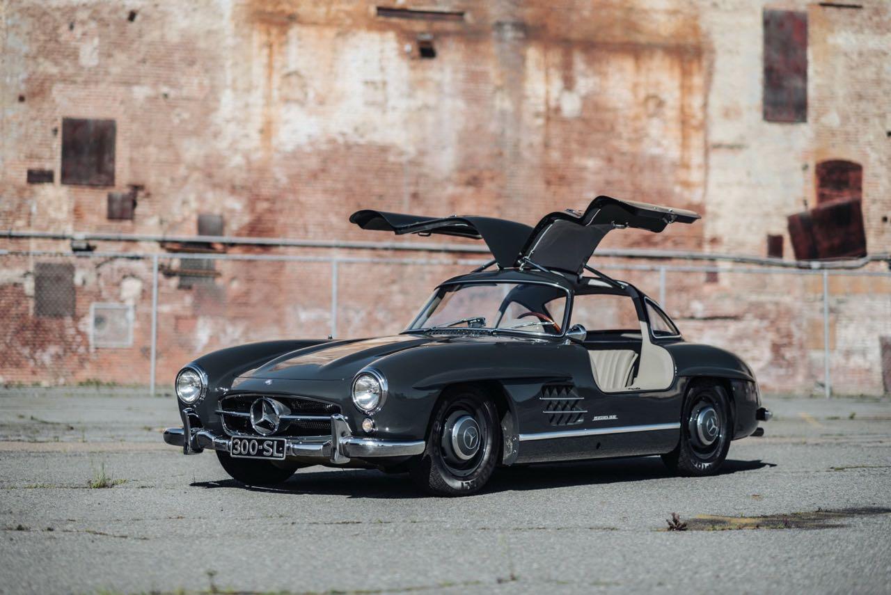 '56 Mercedes 300 SL Gullwing : C'qu'il faut savoir... 3