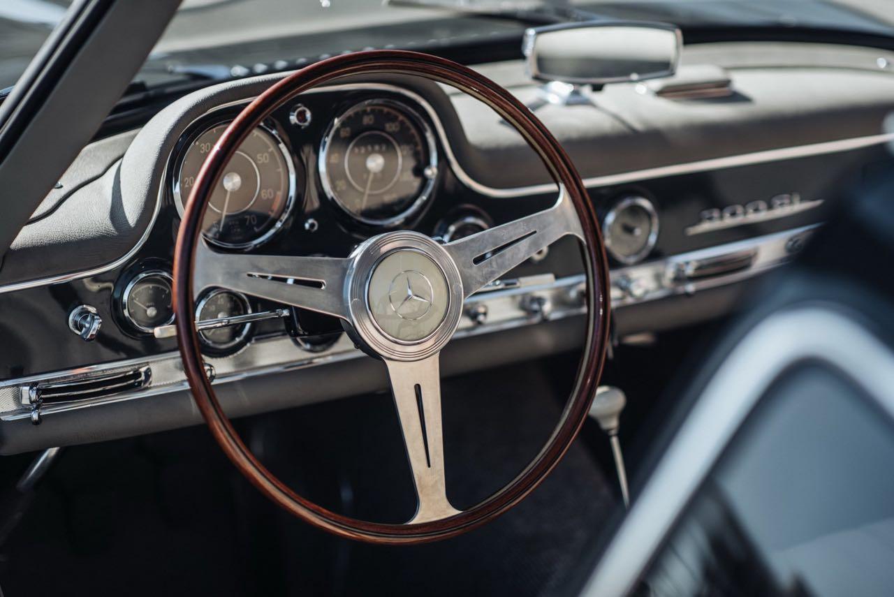 '56 Mercedes 300 SL Gullwing : C'qu'il faut savoir... 7