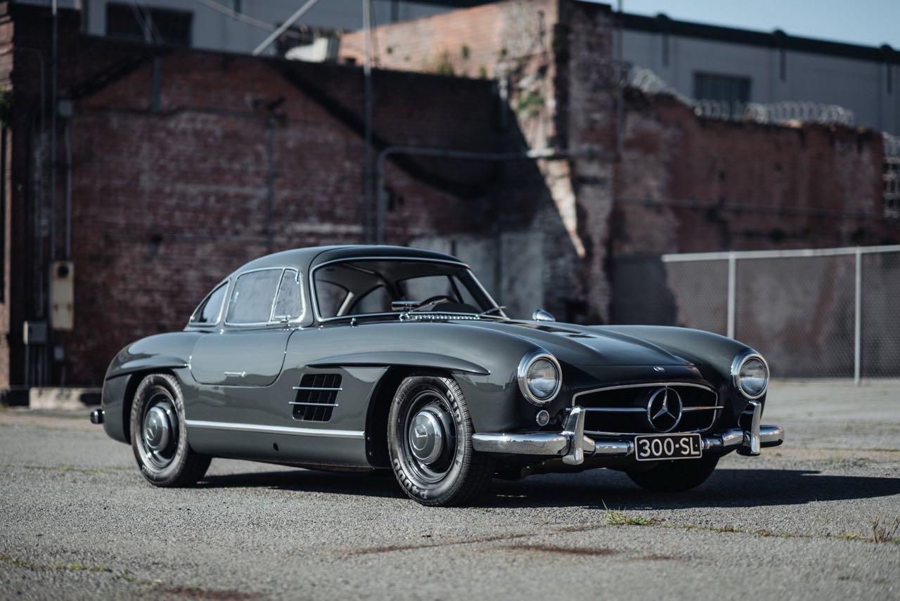 '56 Mercedes 300 SL Gullwing : C'qu'il faut savoir... 12