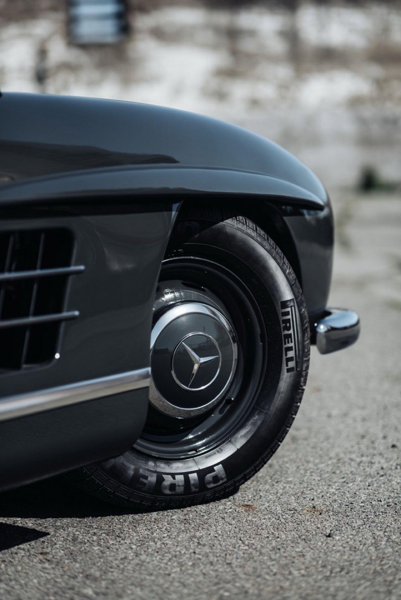 '56 Mercedes 300 SL Gullwing : C'qu'il faut savoir... 14