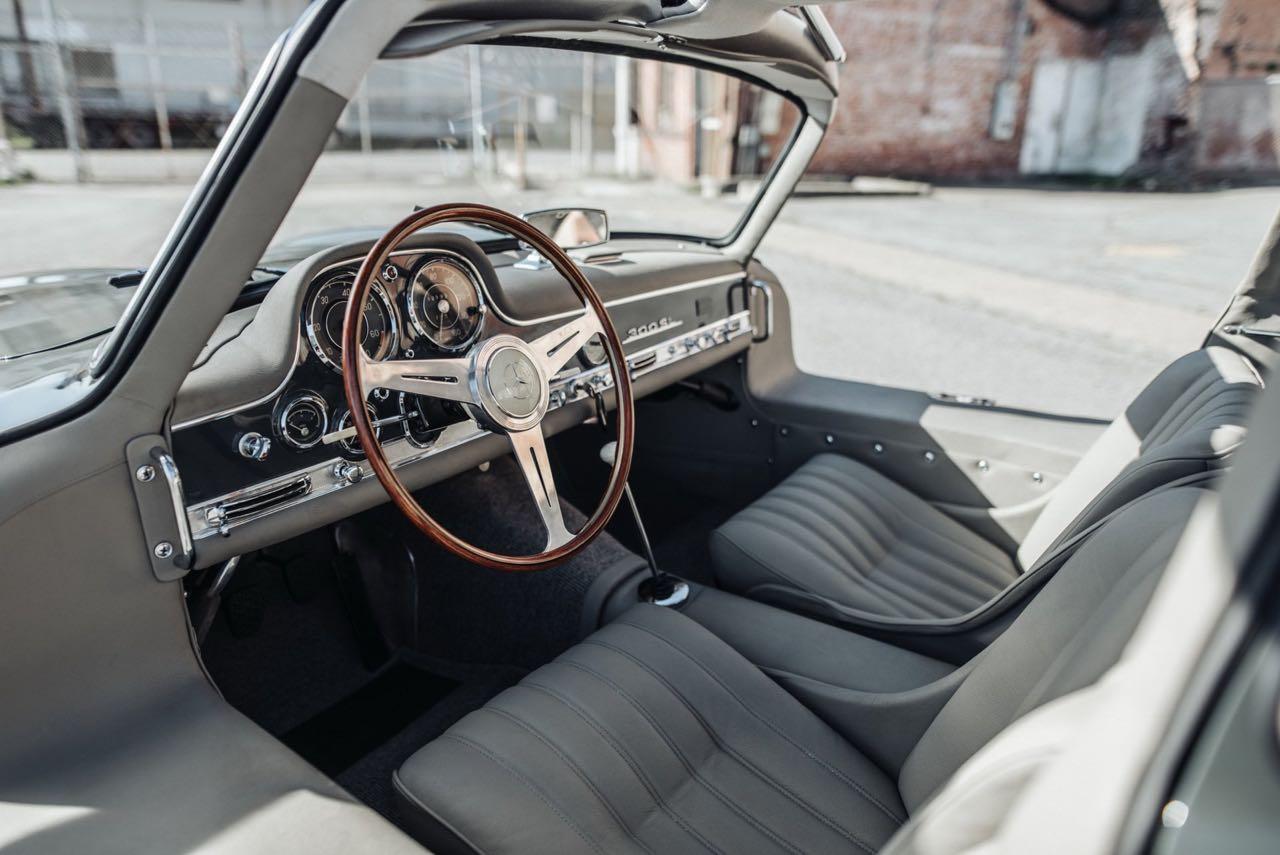 '56 Mercedes 300 SL Gullwing : C'qu'il faut savoir... 5
