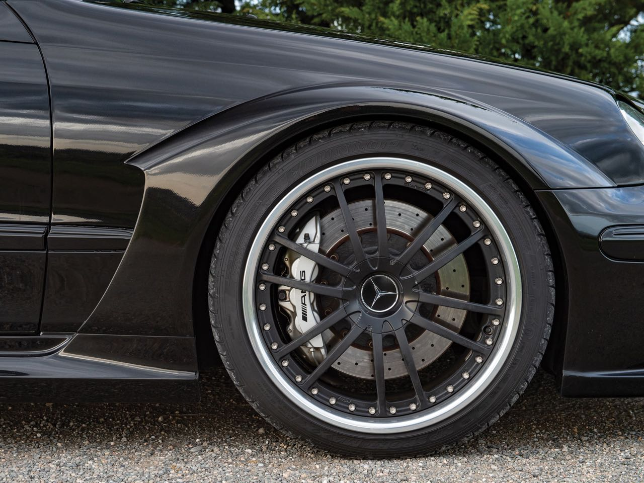 Mercedes CLK DTM... Etoile filante ! 15