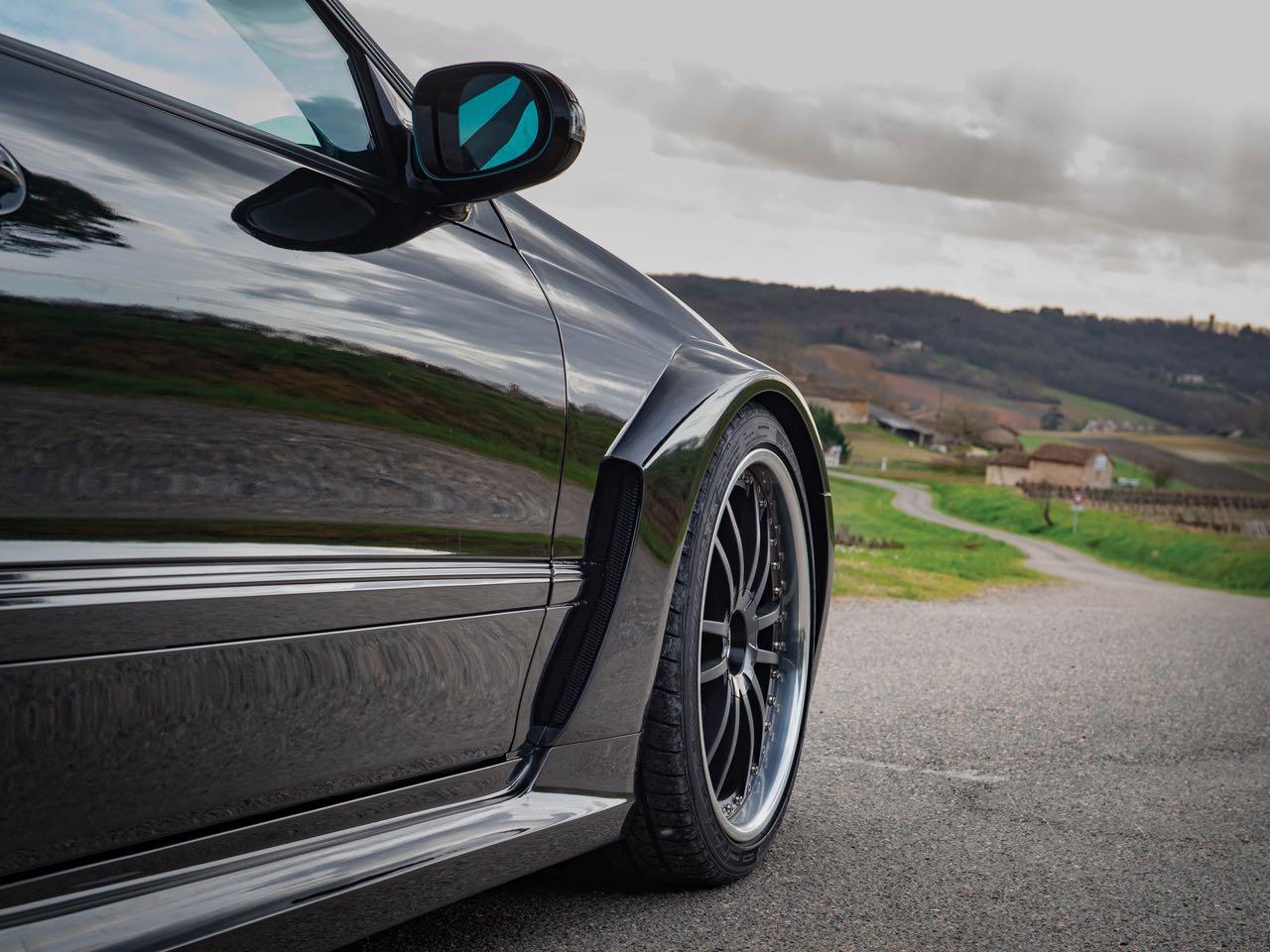Mercedes CLK DTM... Etoile filante ! 7
