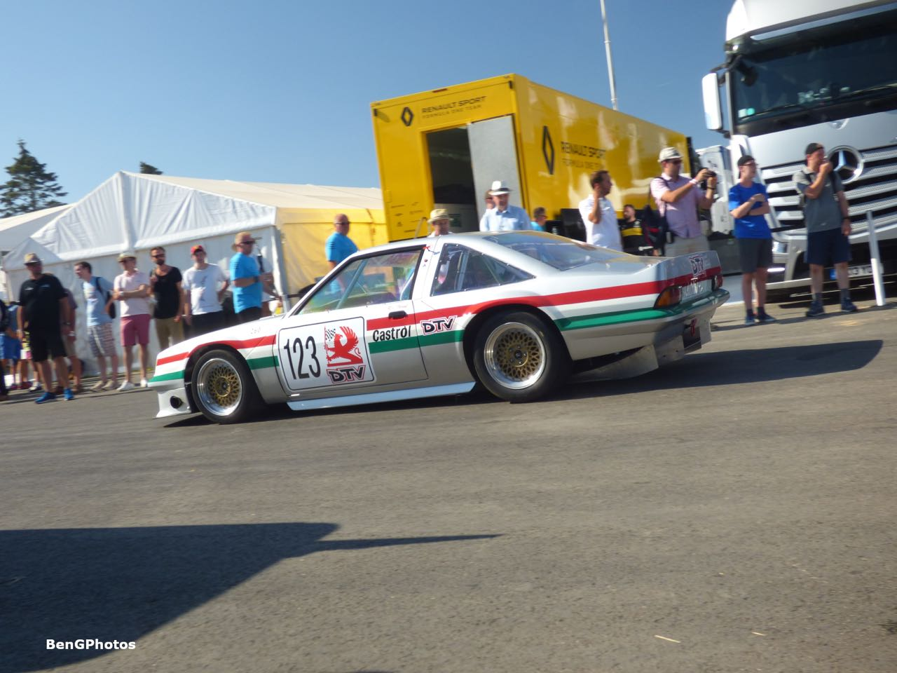 "Engine Sound : Vauxhall Cavalier Mk1 ""Mega Bertha""... Action ! 4"