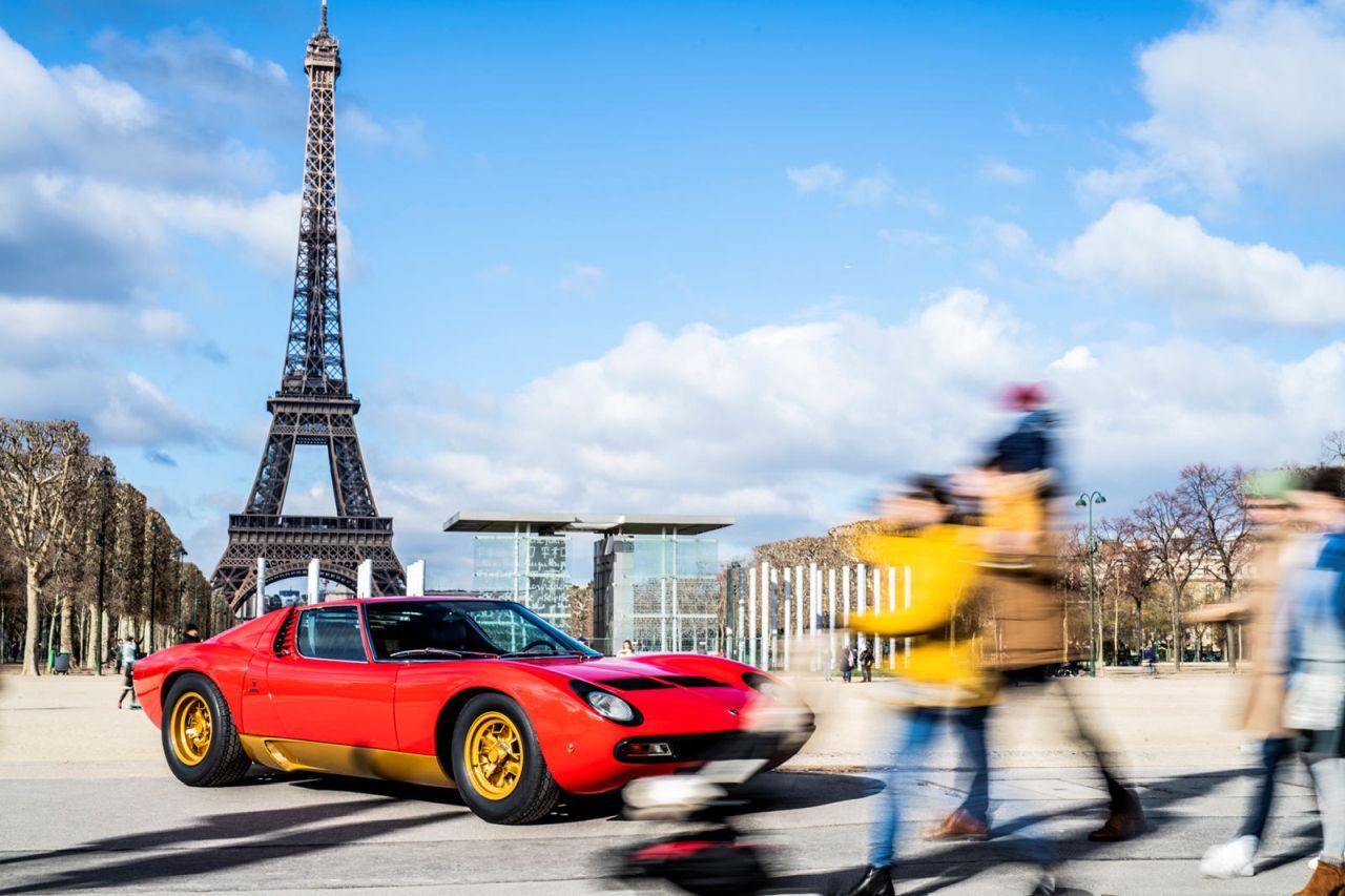 La Lamborghini Miura SV de Jean Todt - Sous la Tour Eiffel ! 5