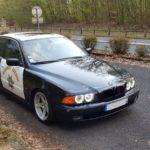 La BMW E39 de François : 22 v'la les bleus ! 16