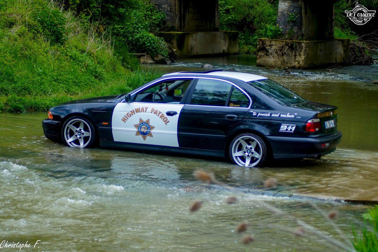 La BMW E39 de François : 22 v'la les bleus ! 10