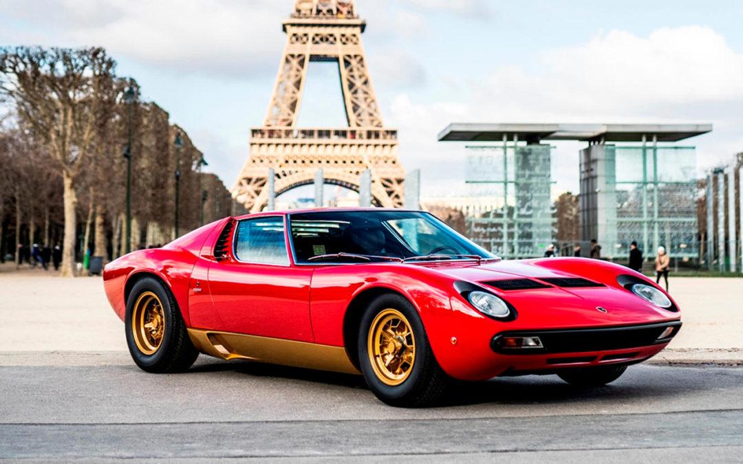 La Lamborghini Miura SV de Jean Todt – Sous la Tour Eiffel !