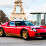 La Lamborghini Miura SV de Jean Todt - Sous la Tour Eiffel !