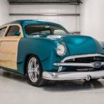 """'50 Ford Station Wagon Custom Woodie... """"Envy"""" de bois et d'acier !"""