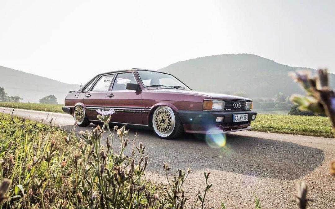 Bagged Audi 80 B2… Porn !