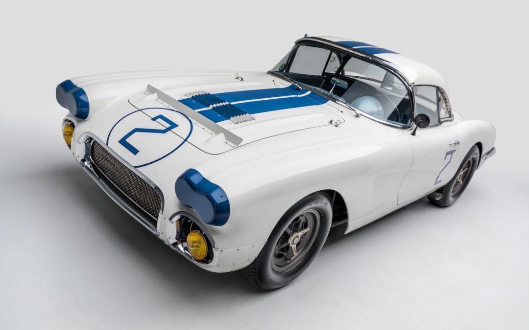'60 Corvette C1… Les V8 débarquent aux 24h du Mans !