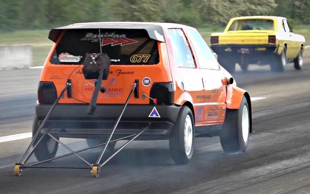 600 ch dans une Fiat Uno… Oui, ils l'ont fait !