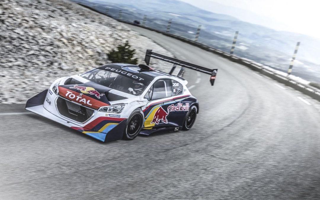 Incontournable : Loeb au Ventoux avec sa 208 T16…