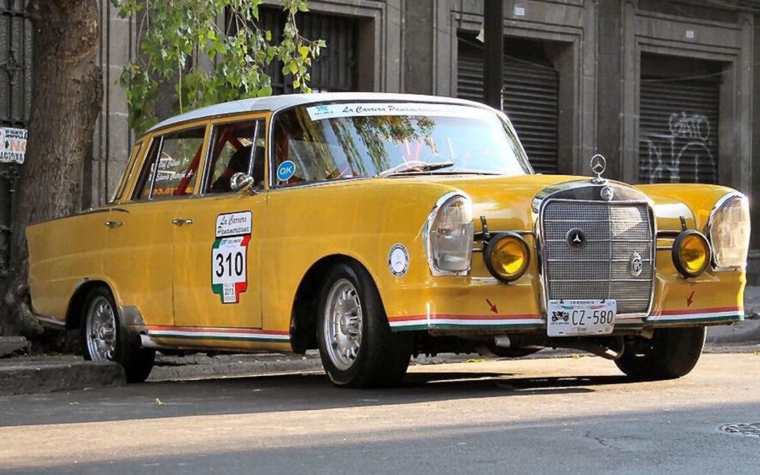 '65 Mercedes 220S – Heckflosse sud-américaine !