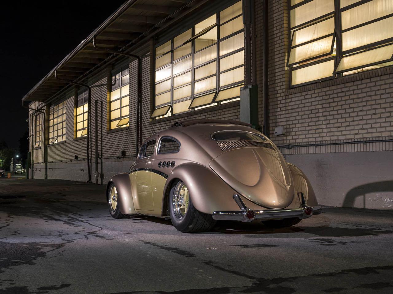 '56 Beetle Berlin Buick... Un V8 sur la banquette ! 8