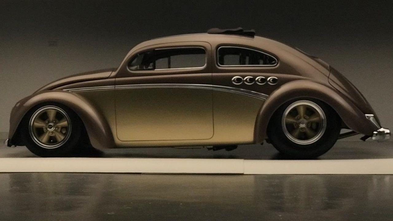 '56 Beetle Berlin Buick... Un V8 sur la banquette ! 1