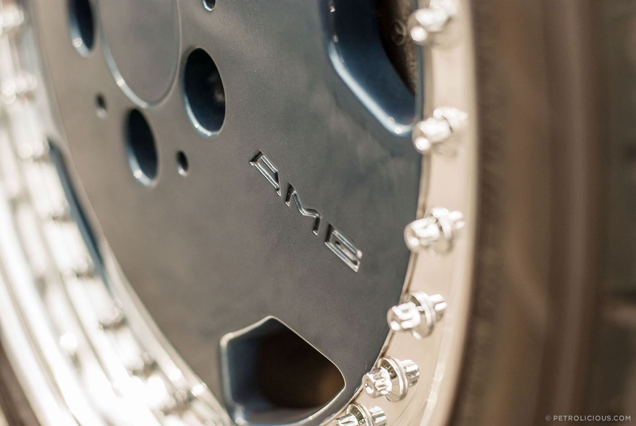 Mercedes W124 break AMG Hammer... Avec les bagages ! 8