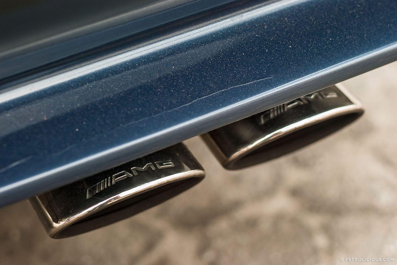 Mercedes W124 break AMG Hammer... Avec les bagages ! 4