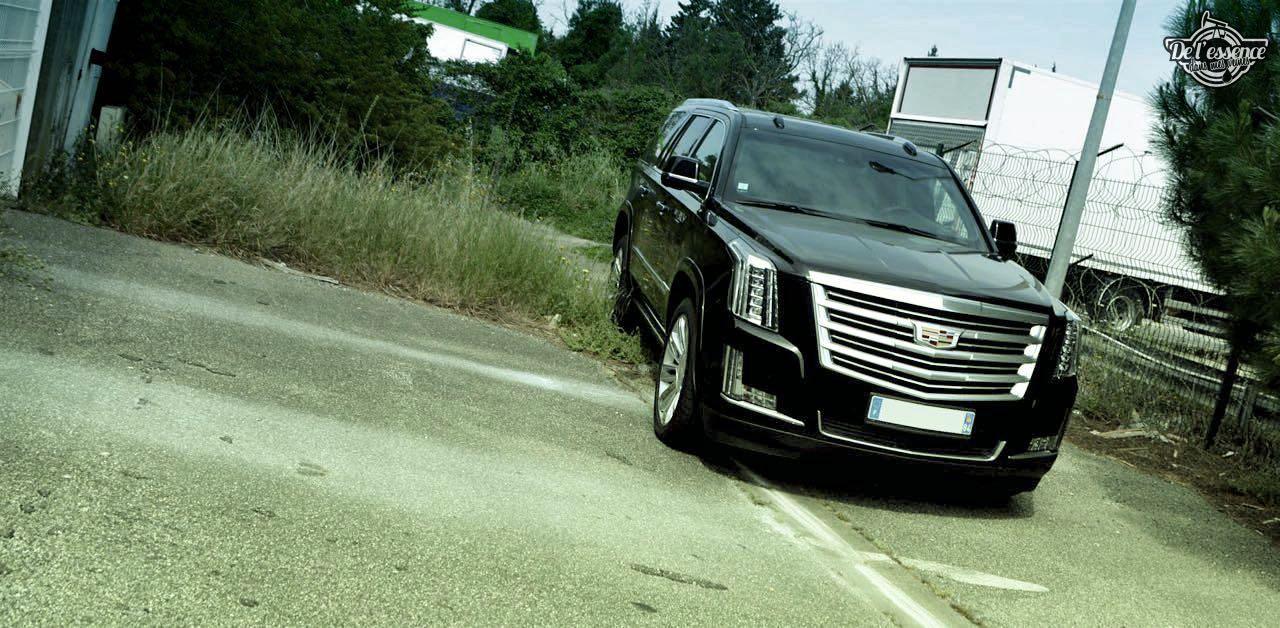 Cadillac Escalade 6.2 - En mode gangsta ! 1