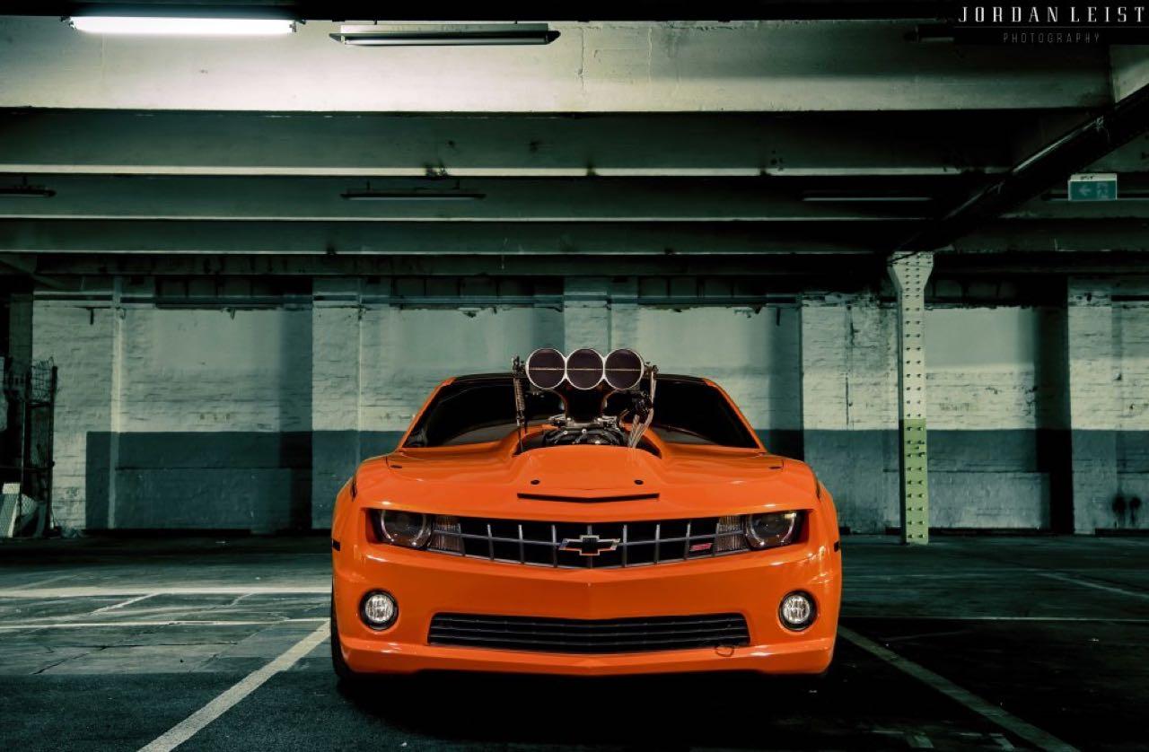 """Chevrolet Camaro 1000+ """"The Grudge""""... Priez pour les pneus ! 2"""