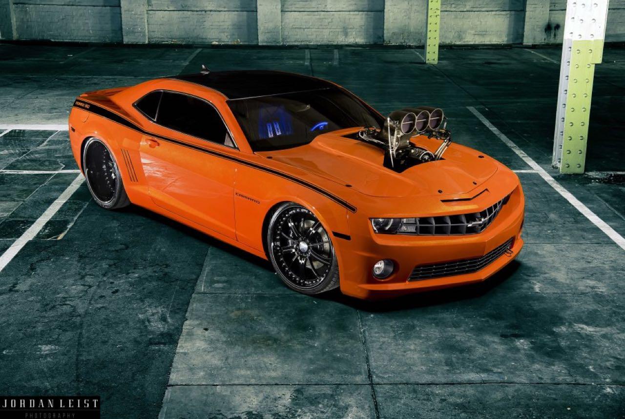 """Chevrolet Camaro 1000+ """"The Grudge""""... Priez pour les pneus ! 7"""